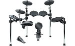 Alesis Command Kit - Eight-Piece Electronic Drum Set with Mesh Snare and Mesh Kick and USB Port for User-Loaded Samples